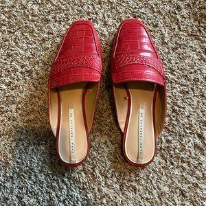 Zara Red Mules